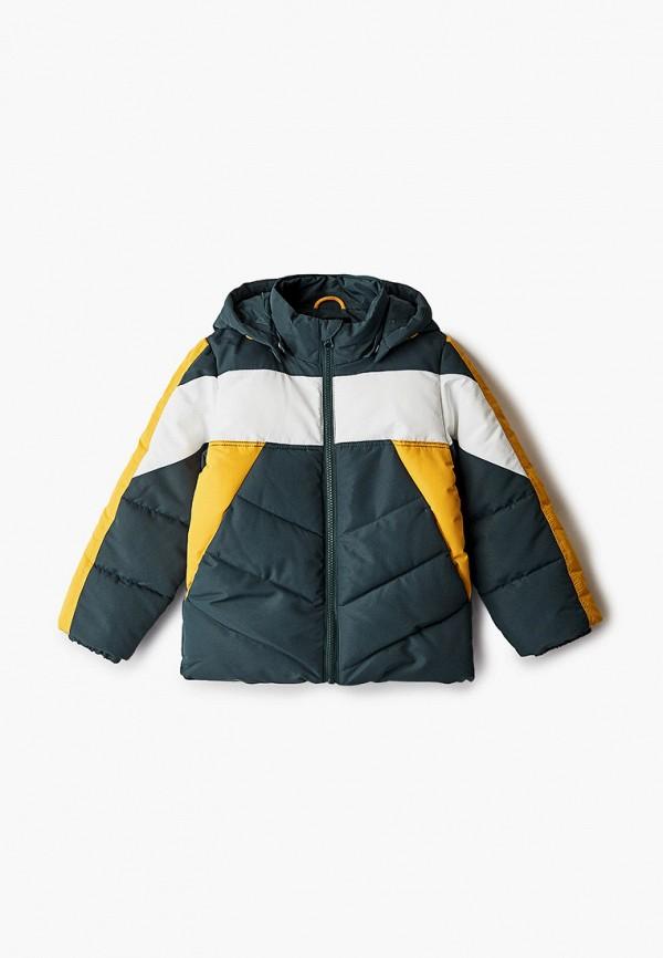 утепленные куртка name it для мальчика, зеленая