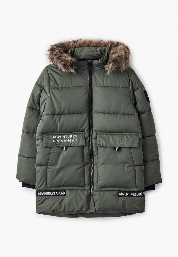 утепленные куртка name it для мальчика, хаки