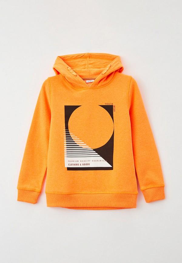 худи name it для мальчика, оранжевые