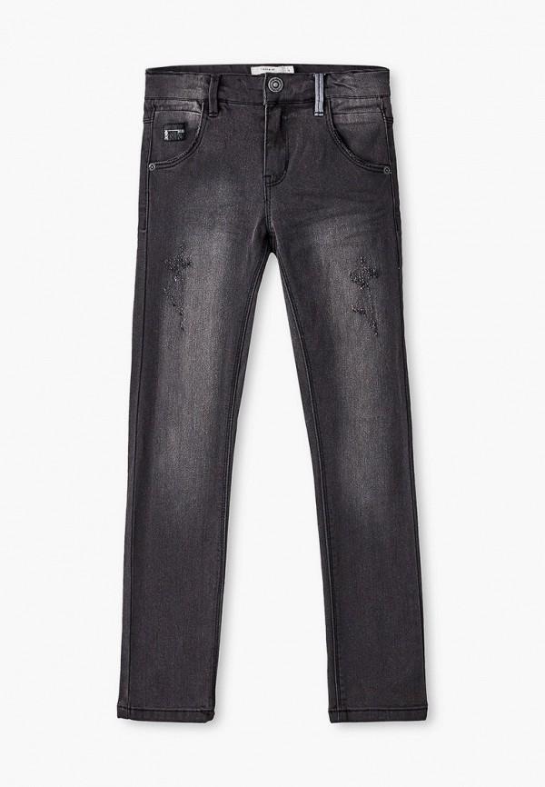 джинсы name it для мальчика, серые