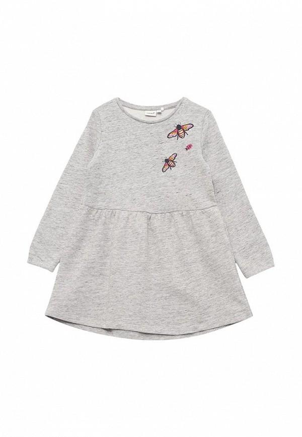 Купить Платье Name It, NA020EGAJJM0, серый, Весна-лето 2018