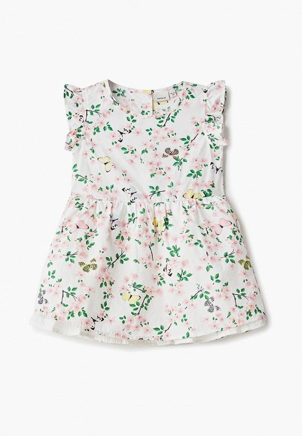 повседневные платье name it для девочки, белое