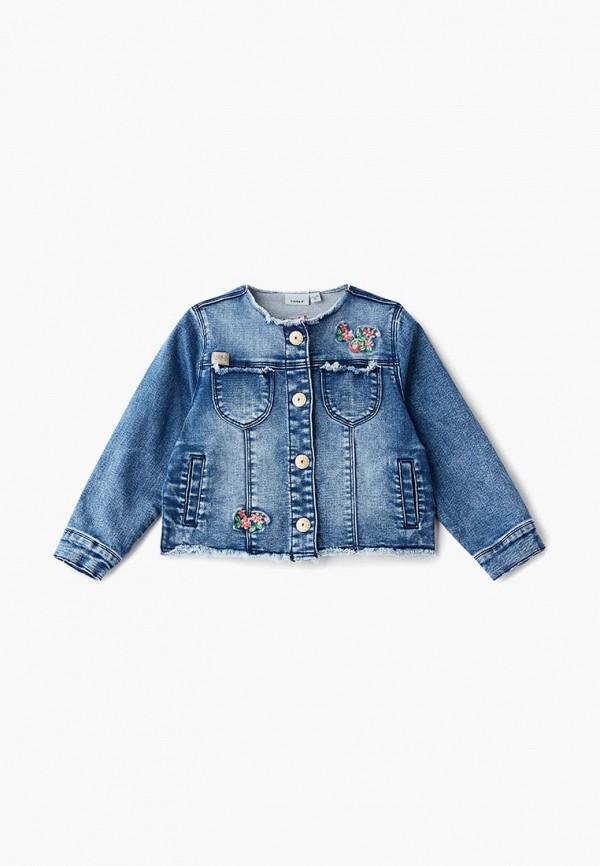 все цены на Куртка джинсовая Name It Name It NA020EGEFXV2