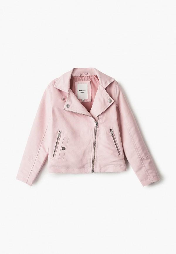 куртка name it для девочки, розовая
