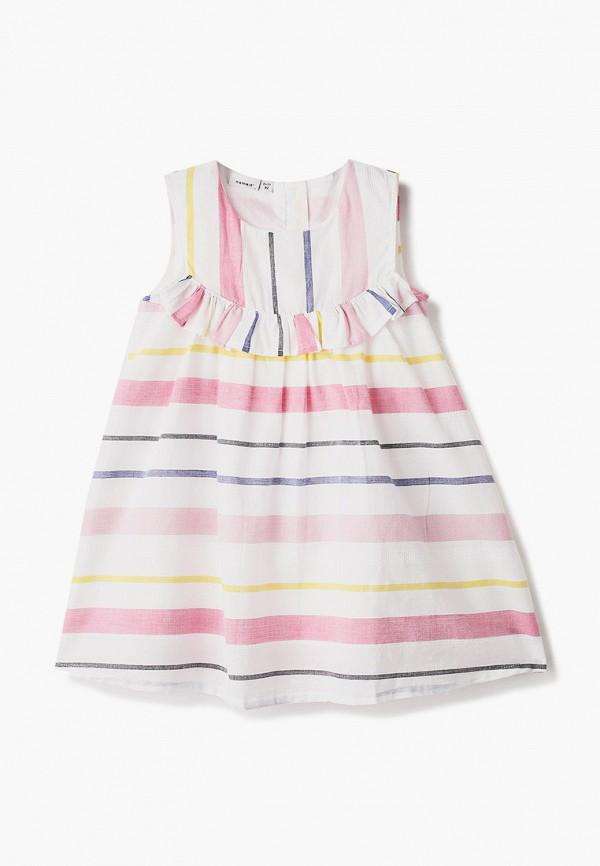 нарядные платье name it для девочки, белое