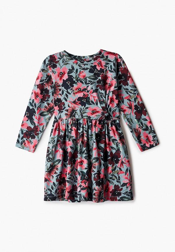 повседневные платье name it для девочки, бирюзовое