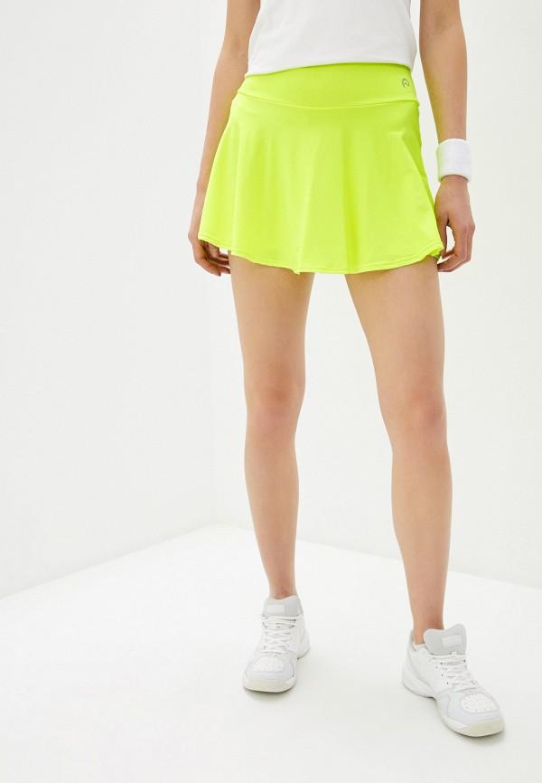 женская спортивные юбка nativos, желтая