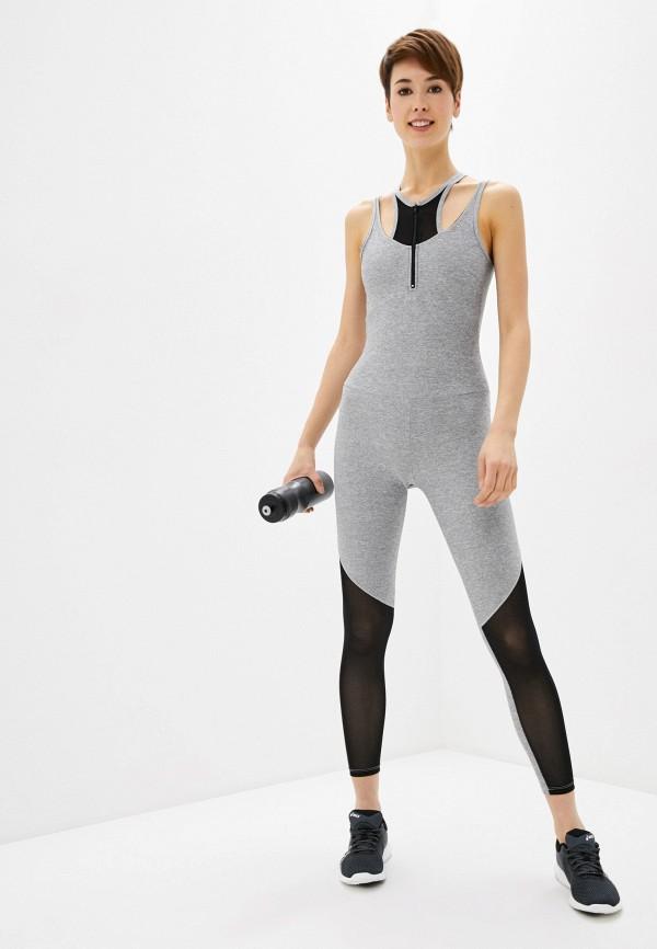 женский спортивные комбинезон nativos, серый