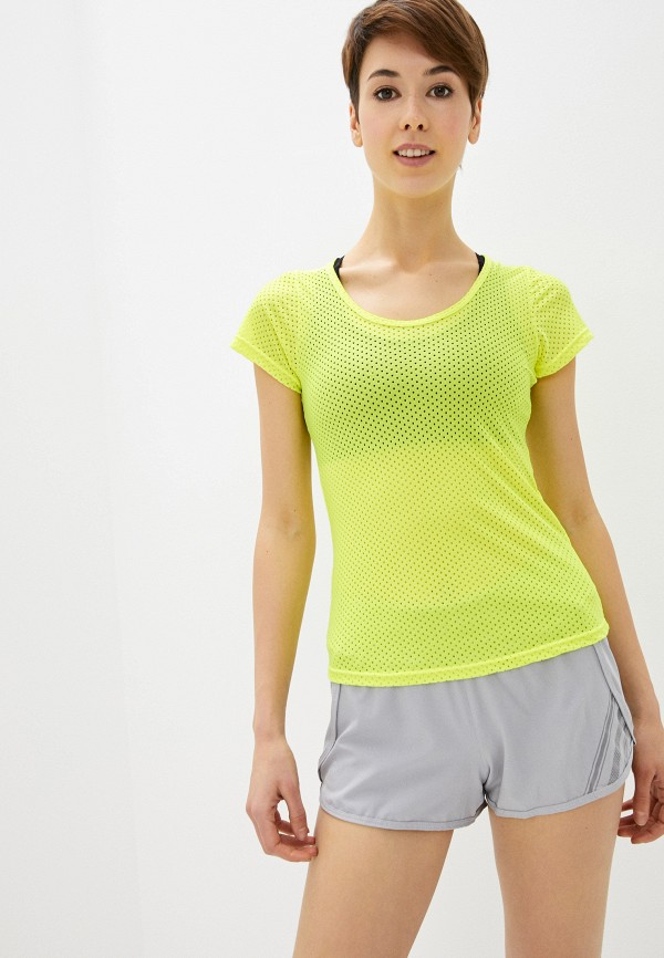 женская спортивные футболка nativos, желтая