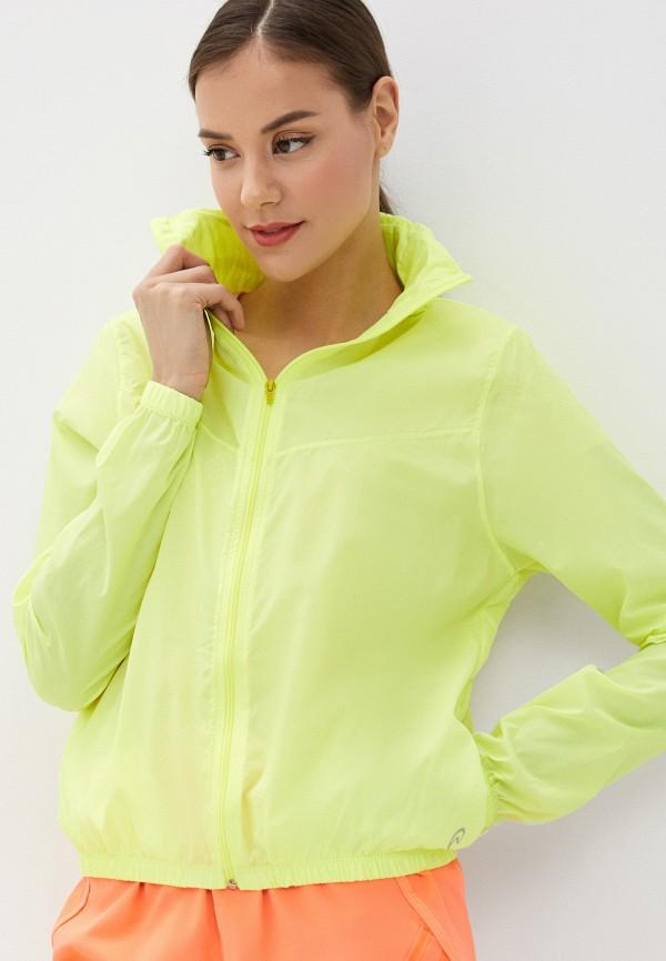 женская куртка nativos, желтая
