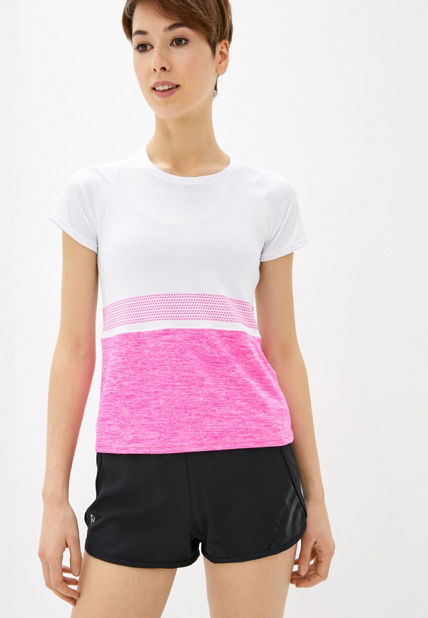 женская спортивные футболка nativos, розовая