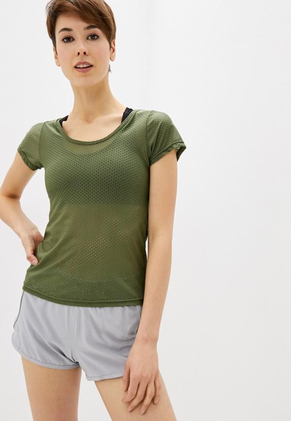 женская спортивные футболка nativos, хаки