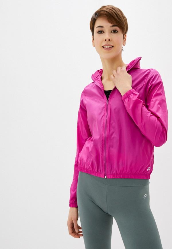 женская куртка nativos, розовая
