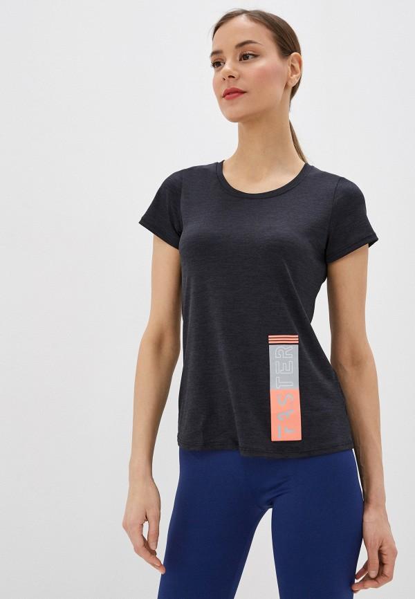 женская футболка nativos, серая