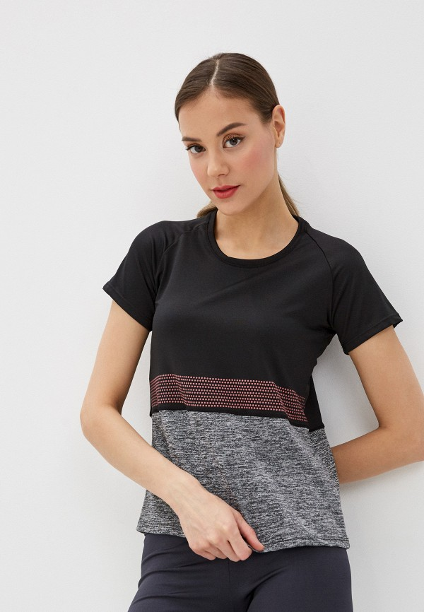 женская футболка nativos, черная