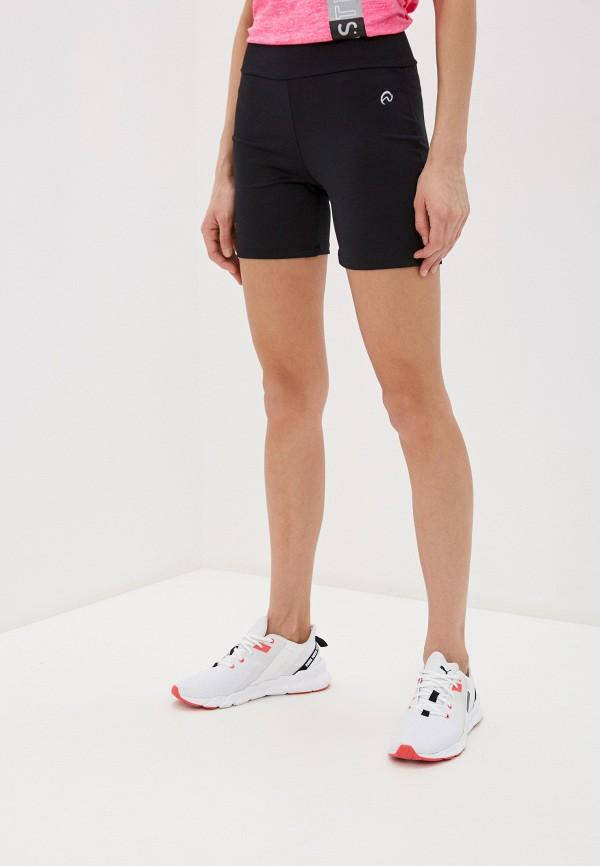женские спортивные шорты nativos, черные