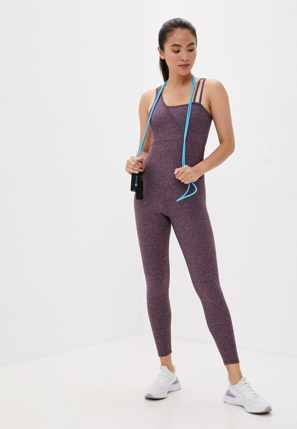 женский спортивные комбинезон nativos, фиолетовый