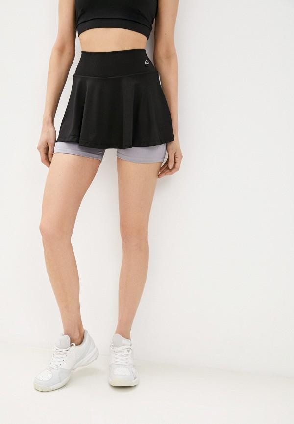 женская спортивные юбка nativos, черная