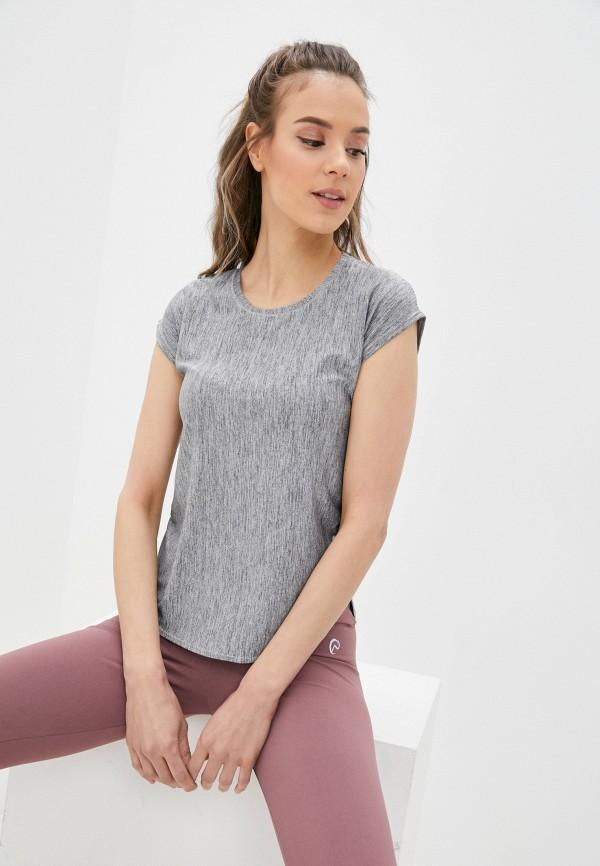 женская спортивные футболка nativos, серая