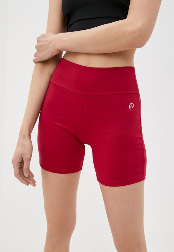 женские спортивные шорты nativos, красные