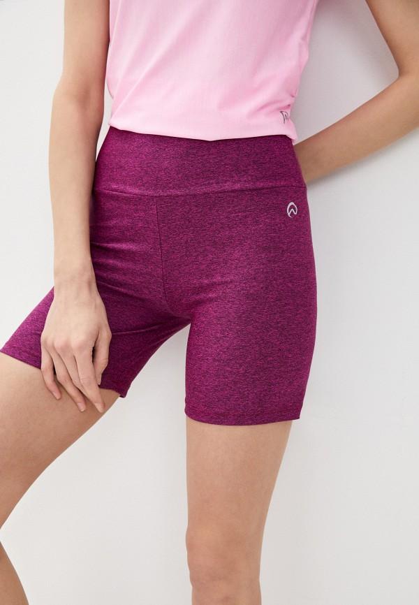 женские спортивные шорты nativos, розовые