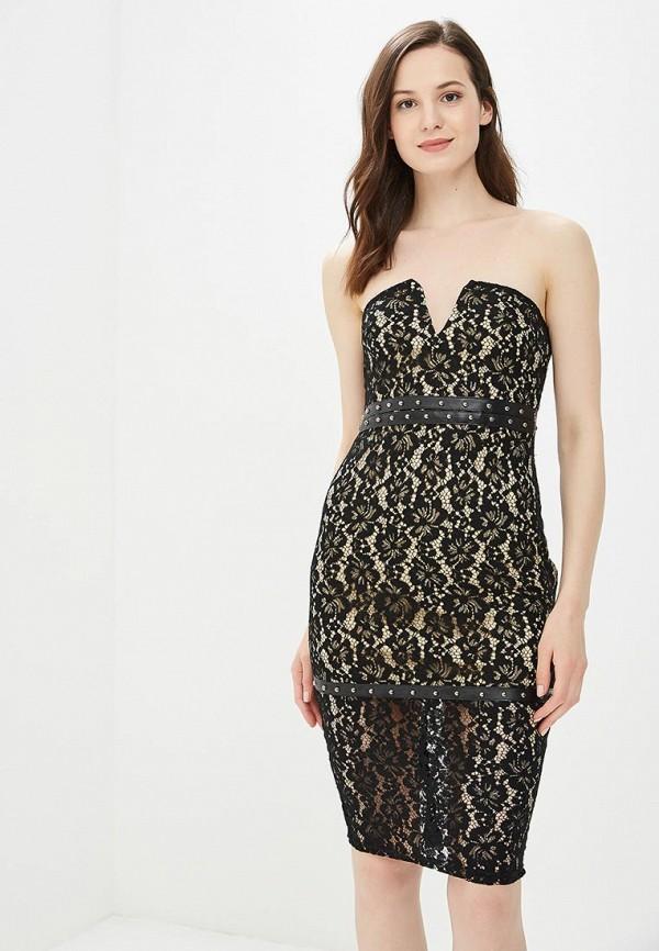 женское вечерние платье naanaa, черное