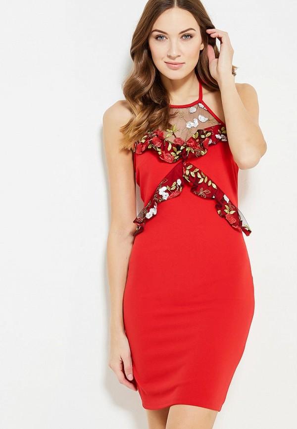 Купить Платье Naanaa, na028ewypc67, красный, Осень-зима 2017/2018