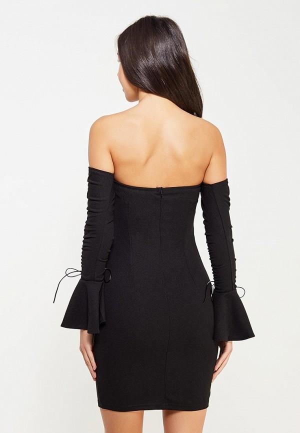 Фото 7 - Платье Naanaa черного цвета