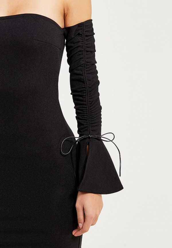 Фото 8 - Платье Naanaa черного цвета