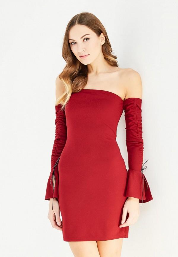 Купить Платье Naanaa, na028ewypc72, бордовый, Осень-зима 2017/2018