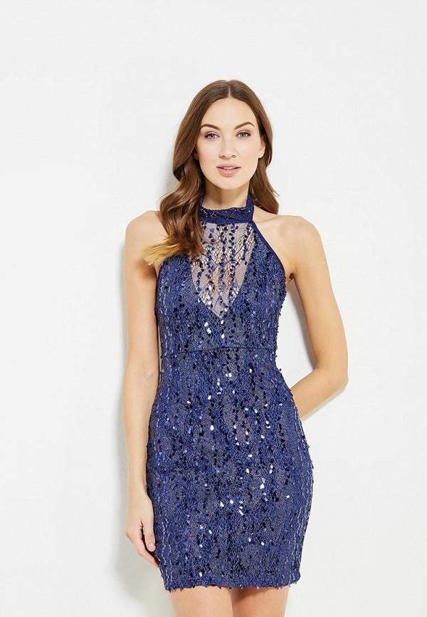 Купить Платье Naanaa, na028ewypc81, синий, Осень-зима 2017/2018