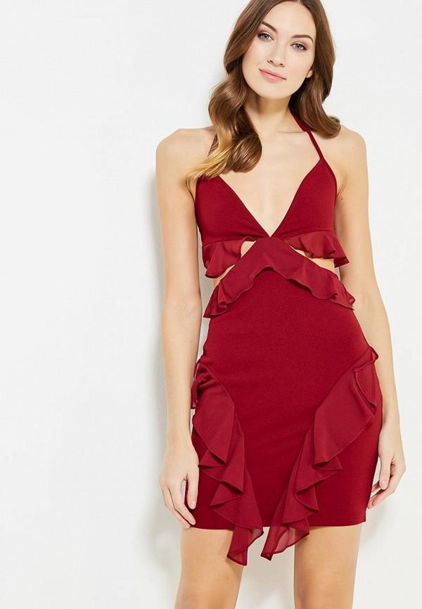 Купить Платье Naanaa, na028ewypc83, бордовый, Осень-зима 2017/2018