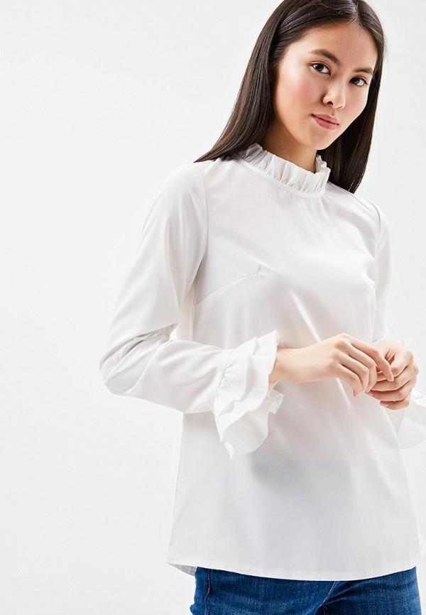 Купить Блуза Naoko, na029ewajaq4, белый, Весна-лето 2018