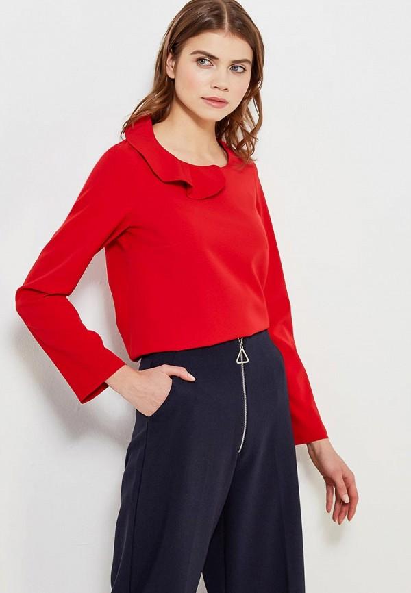 Купить Блуза Naoko, NA029EWAJAQ7, красный, Весна-лето 2018