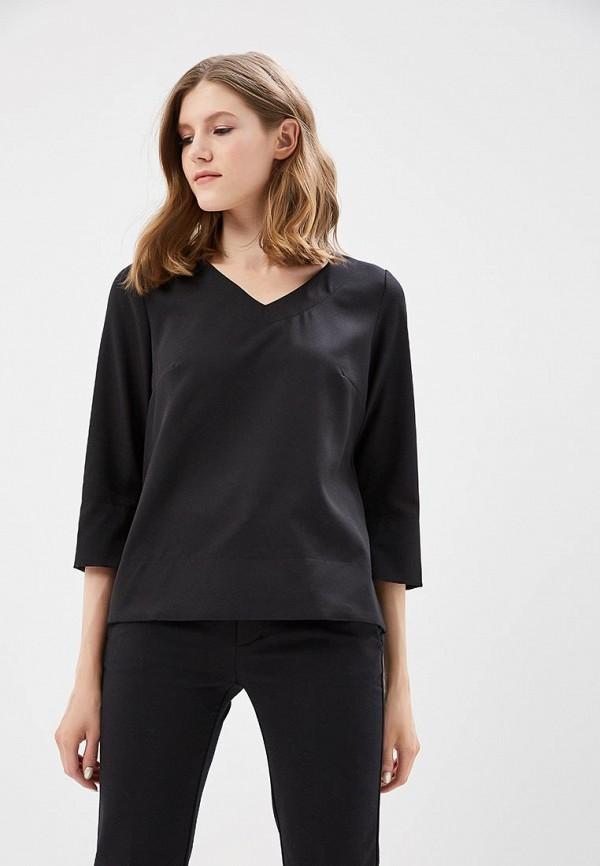Купить Блуза Naoko, na029ewajaq8, черный, Весна-лето 2018