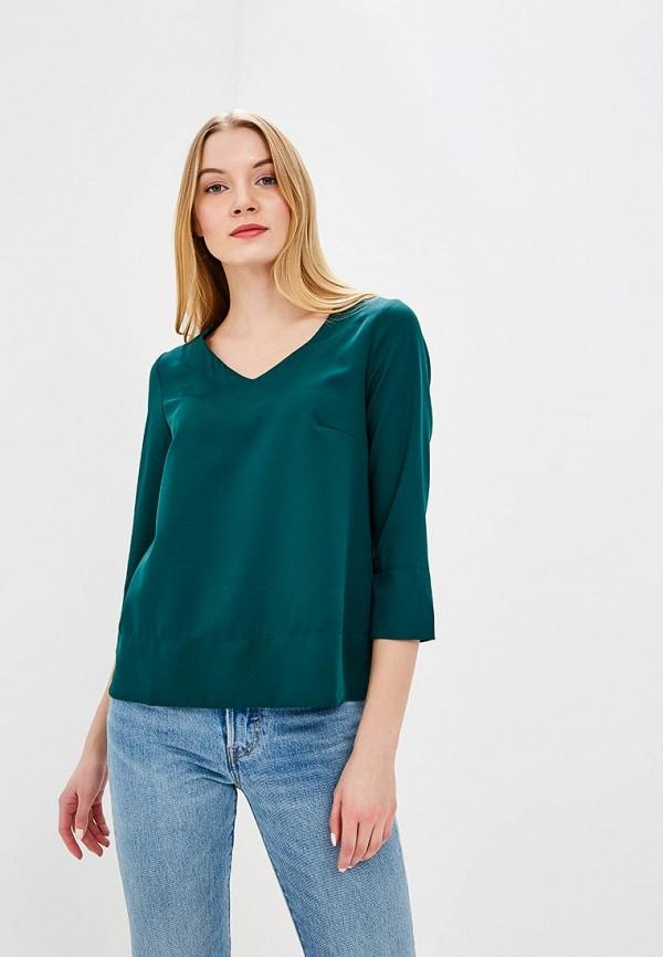 Купить Блуза Naoko, NA029EWAJAR0, зеленый, Весна-лето 2018