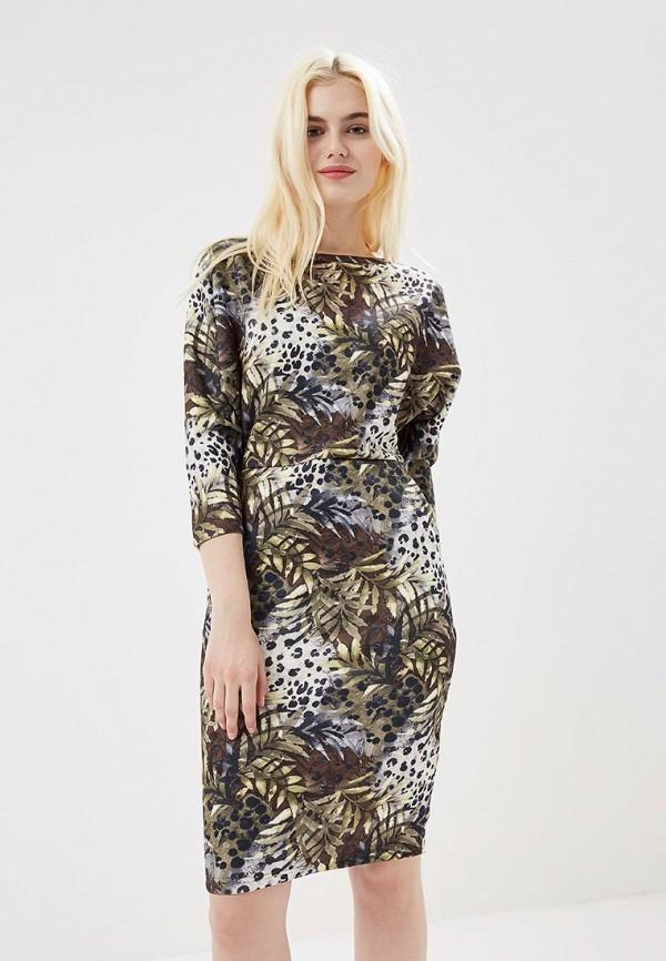 Платье Naoko, na029ewajat8, хаки, Весна-лето 2018  - купить со скидкой