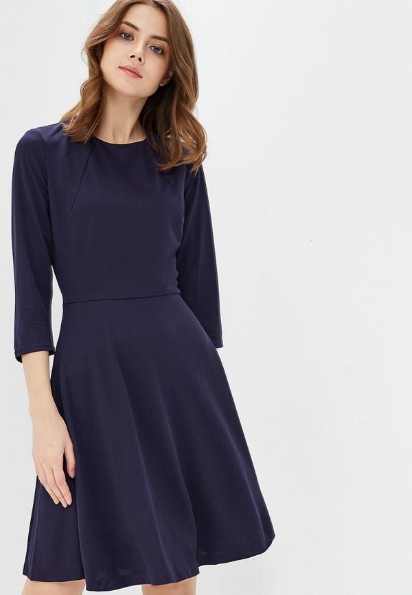 Купить Платье Naoko, na029ewajav3, синий, Весна-лето 2018