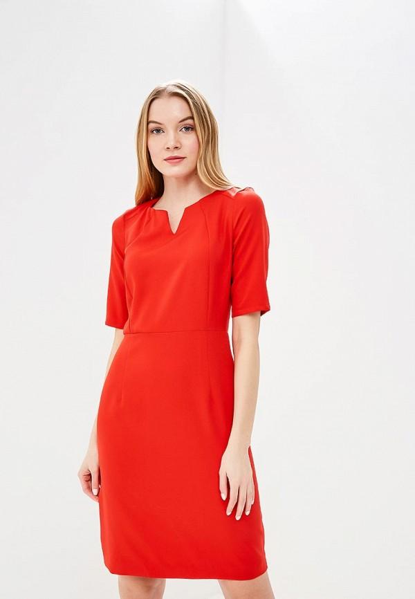 Купить Платье Naoko, na029ewajav7, красный, Весна-лето 2018