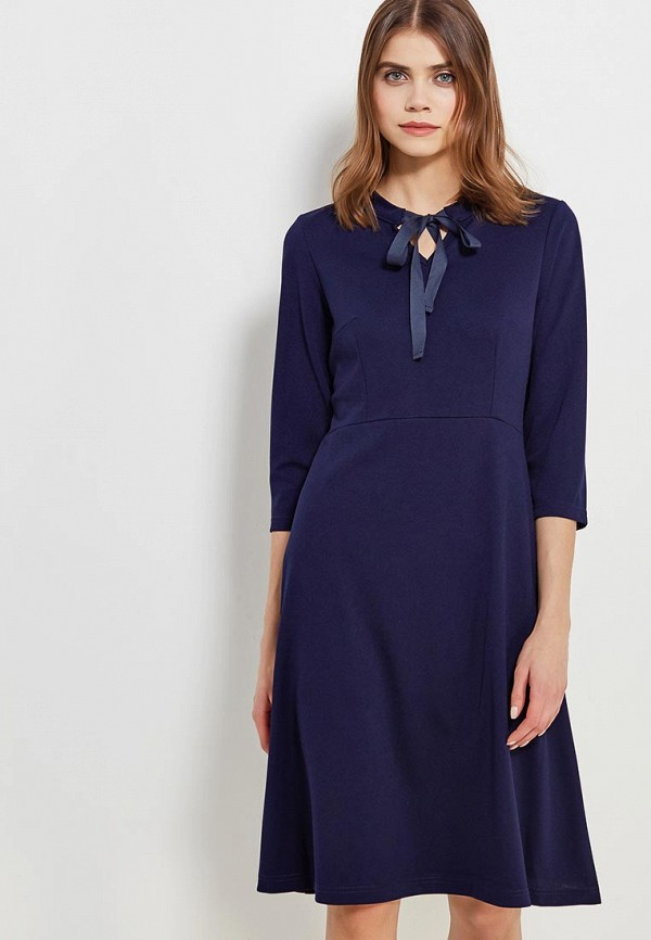 Купить Платье Naoko, na029ewajaw1, синий, Весна-лето 2018