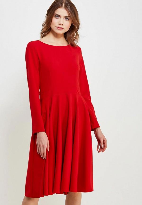 Купить Платье Naoko, NA029EWAJAW5, красный, Весна-лето 2018