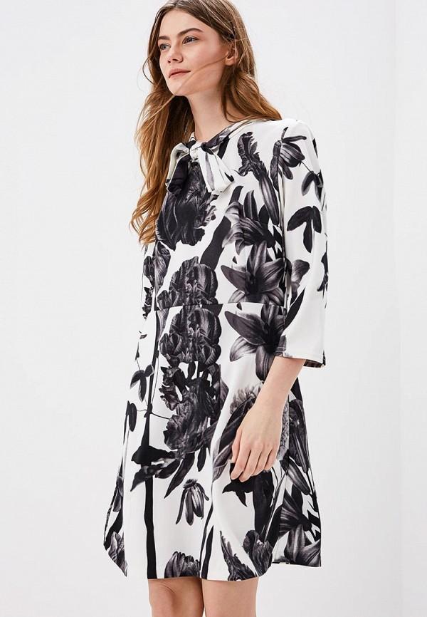 Купить Платье Naoko, NA029EWAJAW7, белый, Весна-лето 2018