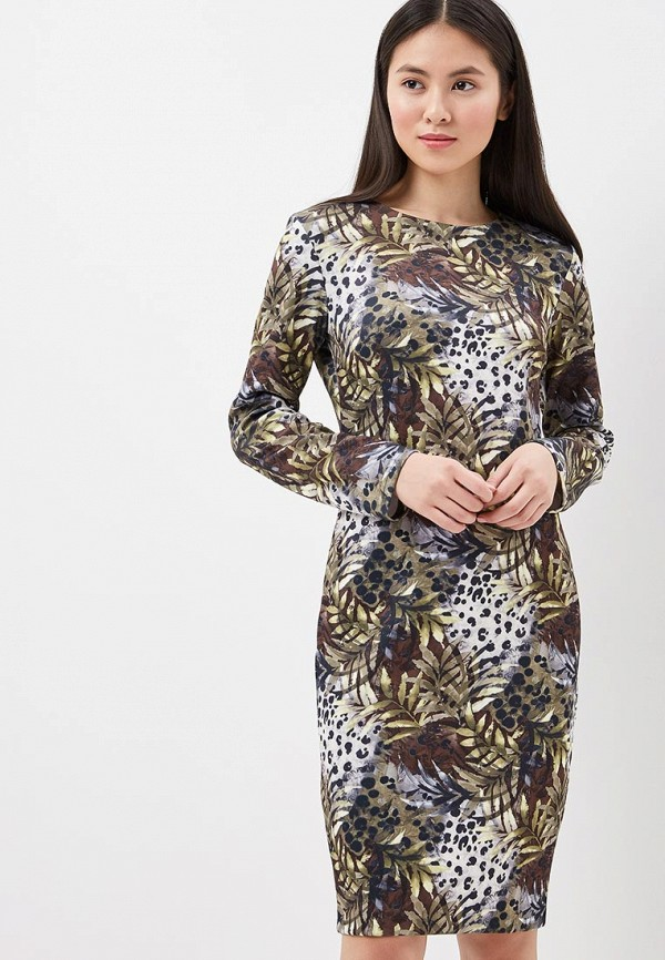 Купить Платье Naoko, NA029EWAJAX2, зеленый, Весна-лето 2018