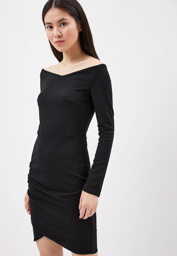 Купить Платье Naoko, NA029EWAJAX9, черный, Весна-лето 2018