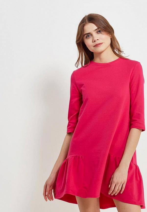 Купить Платье Naoko, na029ewajay3, розовый, Весна-лето 2018