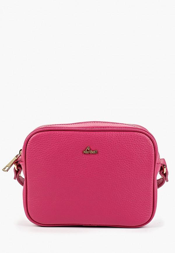 женская сумка nardelli, розовая