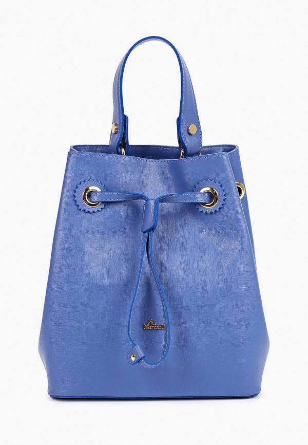 женская сумка nardelli, голубая