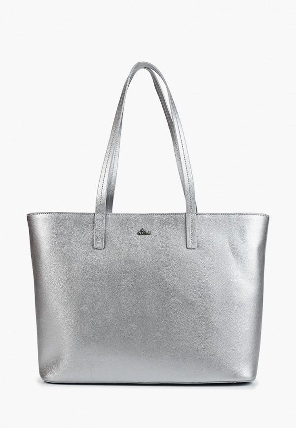 женская сумка nardelli, серебряная