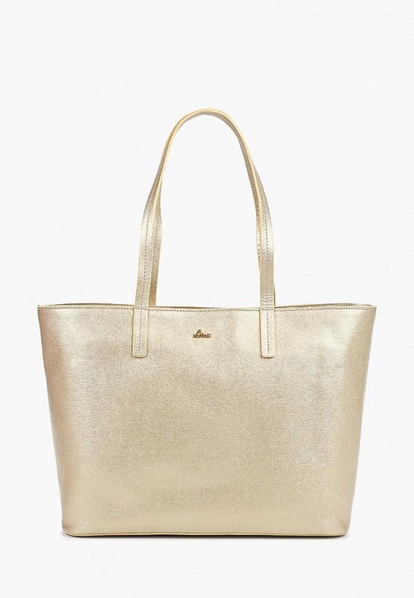 женская сумка nardelli, золотая