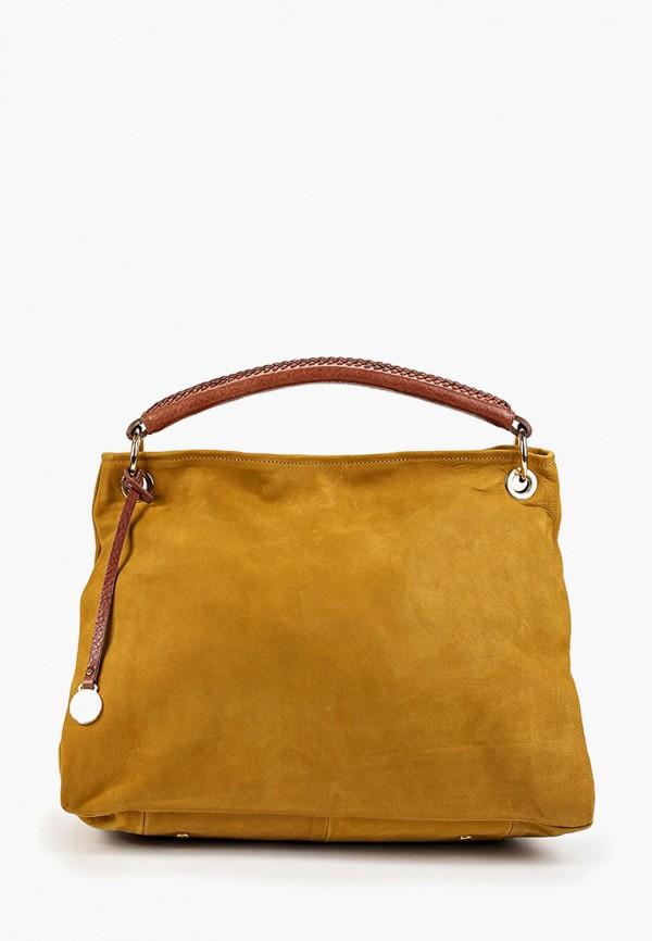 женская сумка nardelli, коричневая